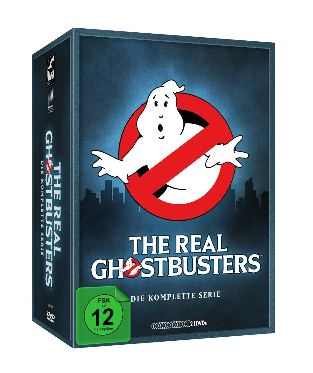 The Real Ghostbusters - Die komplette Serie.