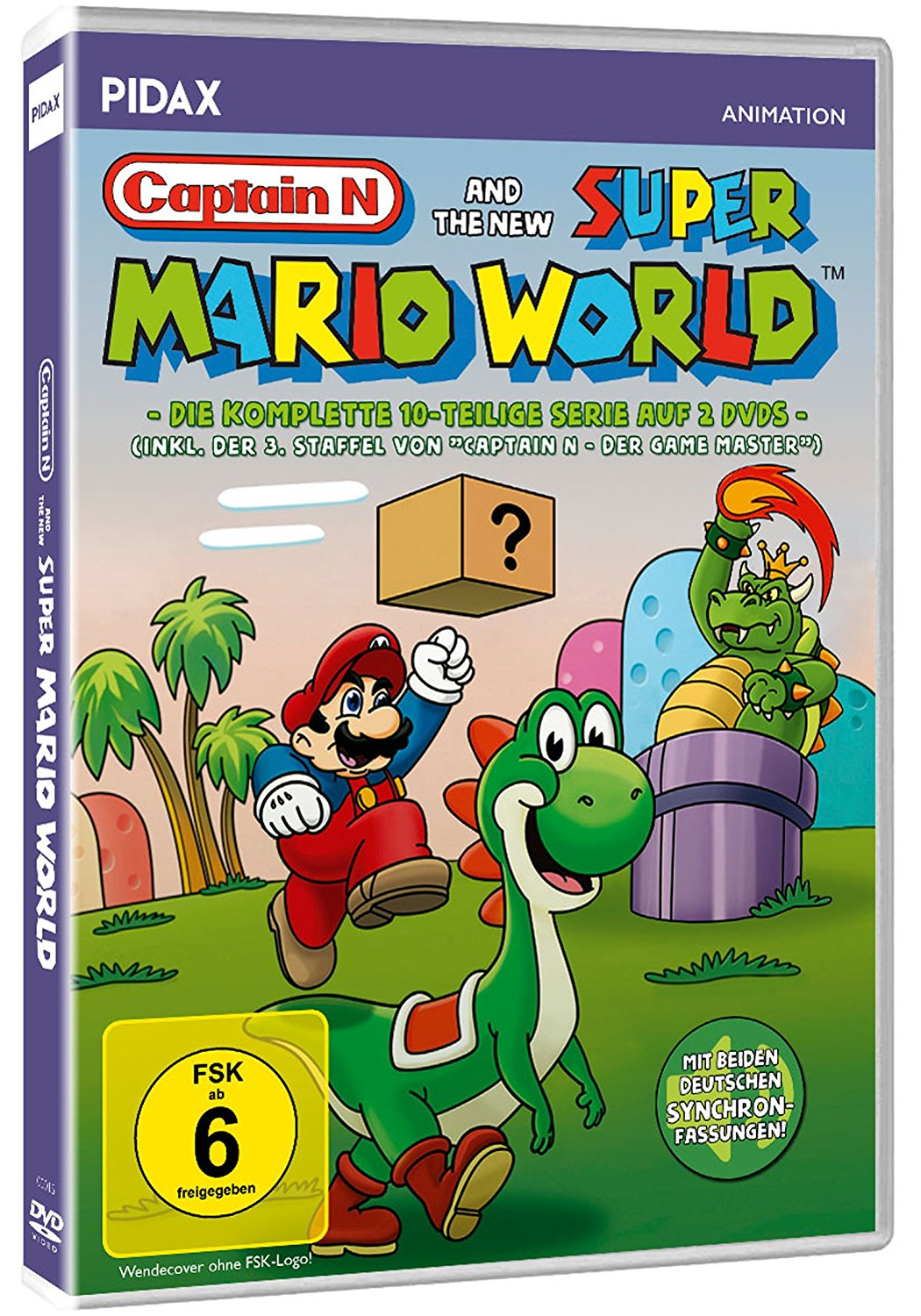 Captain N and the new Super Mario World / Die komplette 10-teilige Serie inkl. Staffel 3 von CAPTAIN N.