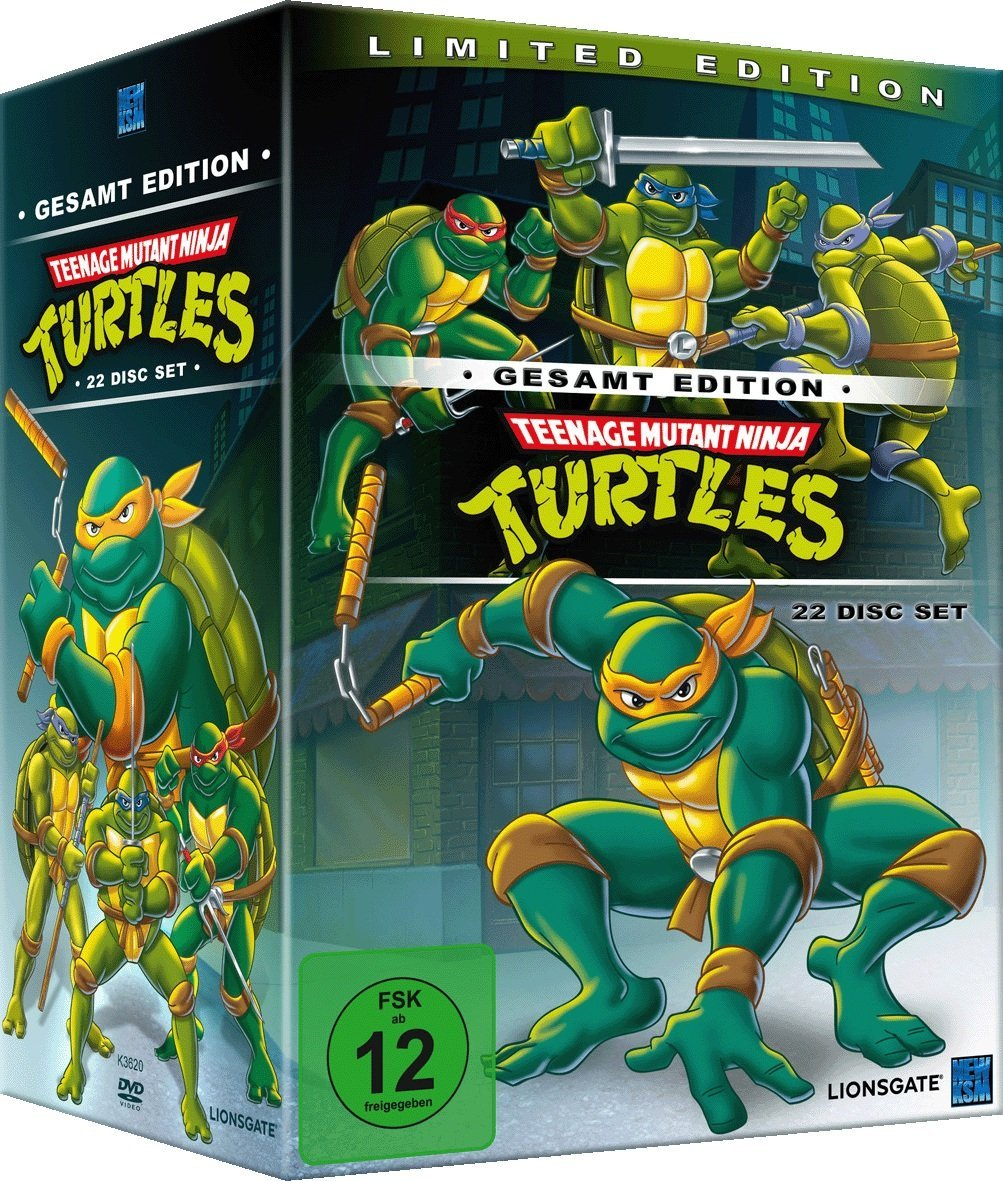 Teenage Mutant Ninja Turtles - Limited Edition. Die komplette Serie.