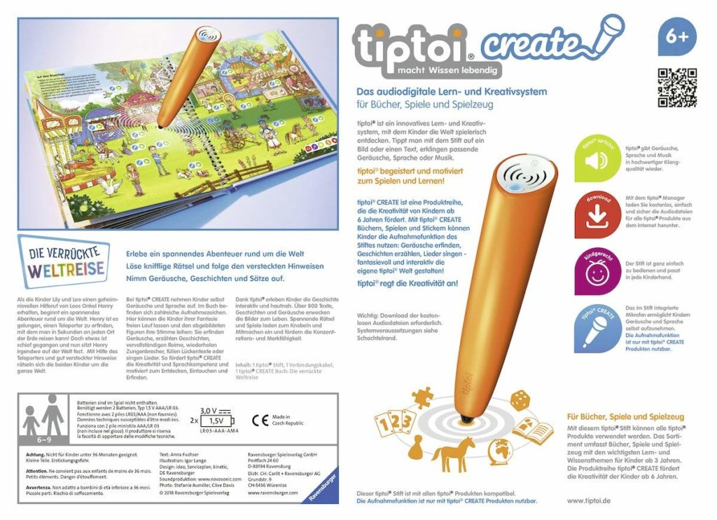 tiptoi create